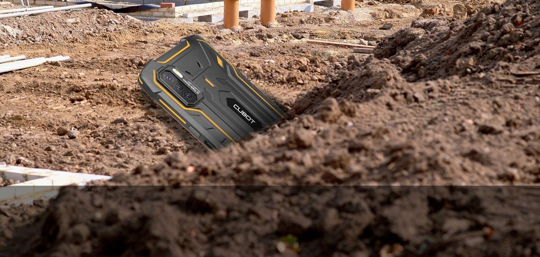 CUBOT KING KONG 5 PRO 2 4/64GB NFC LTE PANCERNY Kolor czarny