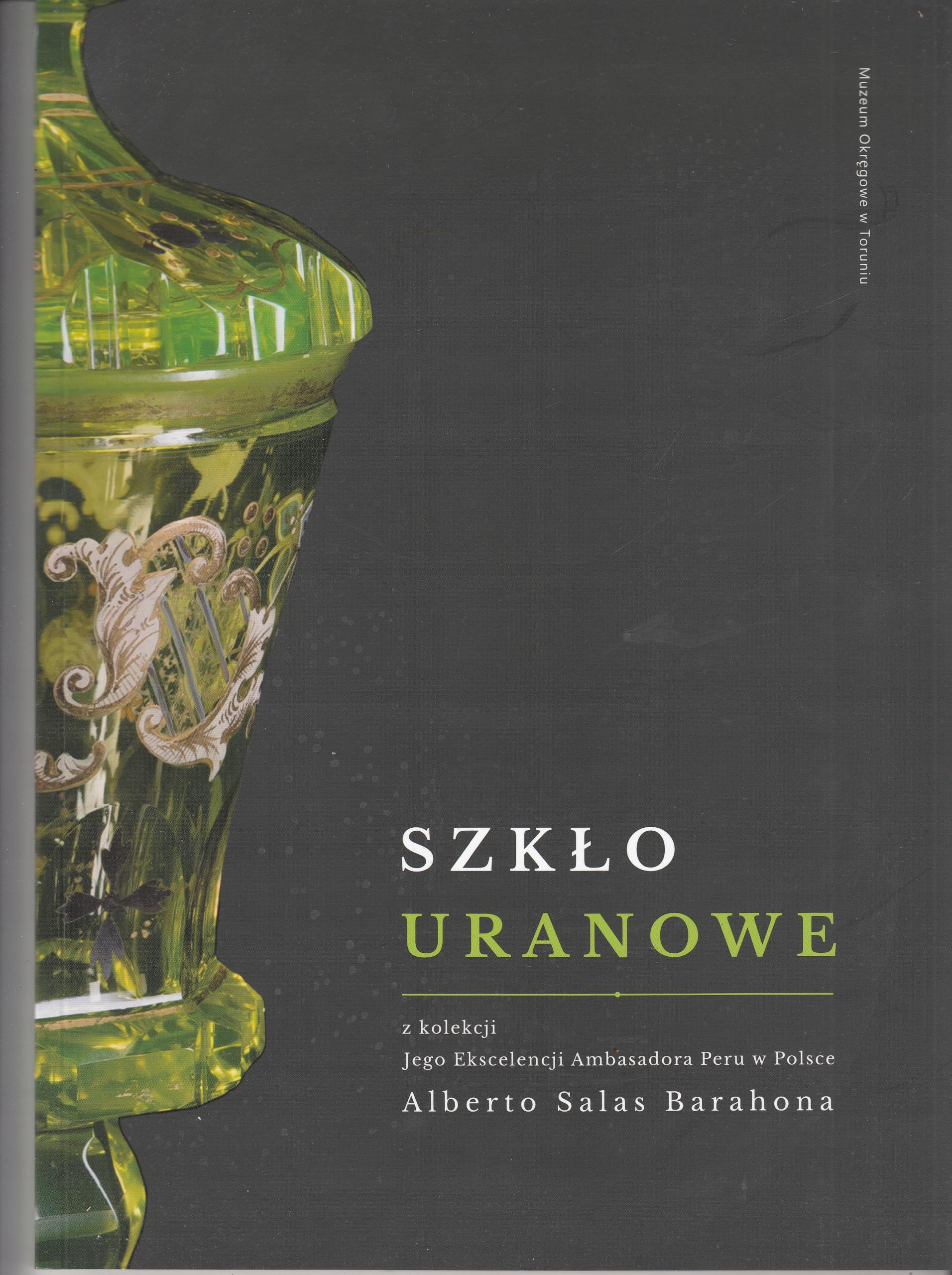Урановое стекло из коллекции посла Перу в Польше