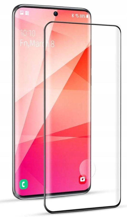Etui Skórzane + Szkło do Samsung Galaxy S20 Ultra Producent INNY