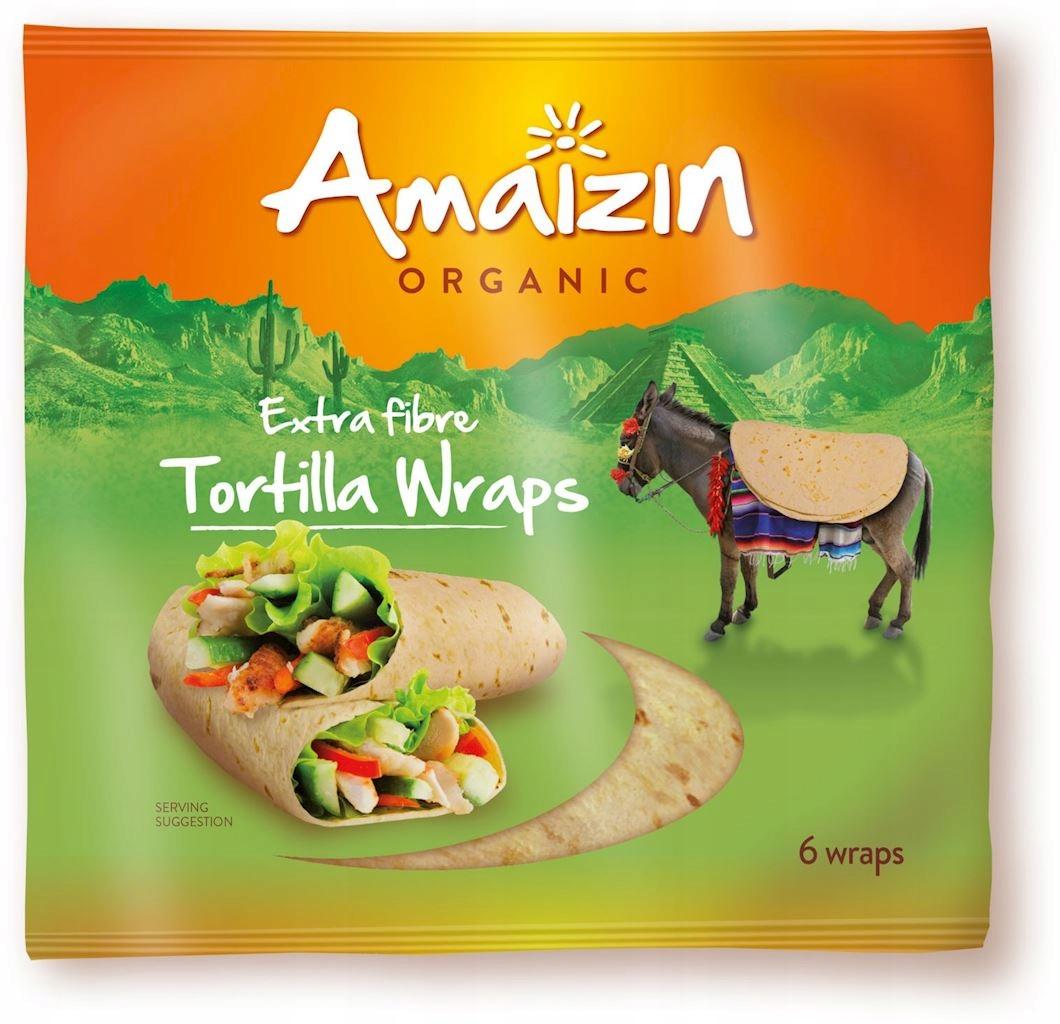 Tortilla Wraps z Otrębami (Źródło Błonnika Pokarmo