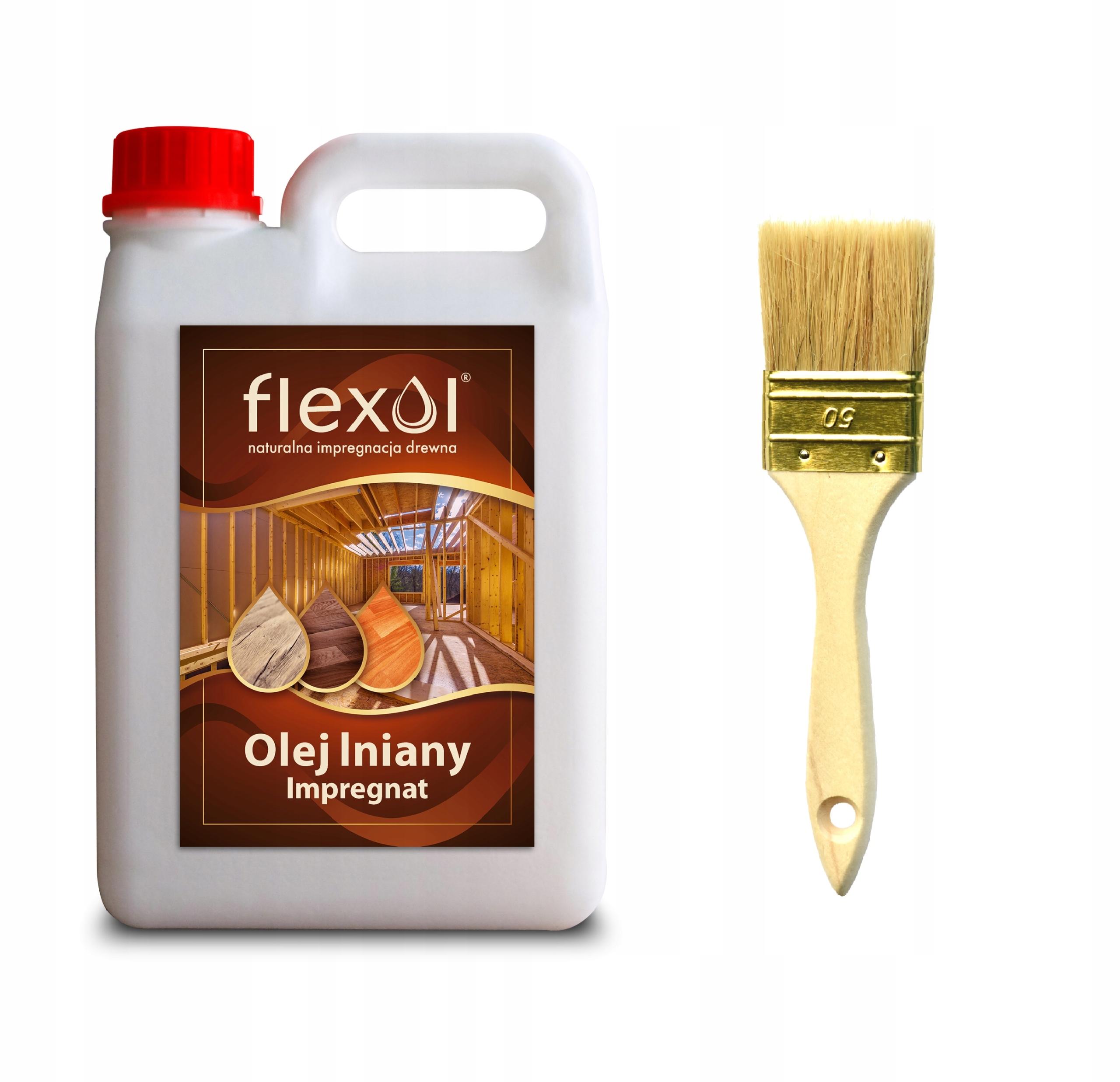 Масло льняного 100% натуральная пропитка древесины 2л