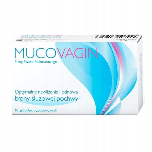 MUCOVAGIN для интравагинального увлажняющие гиалуроновая кислота 10