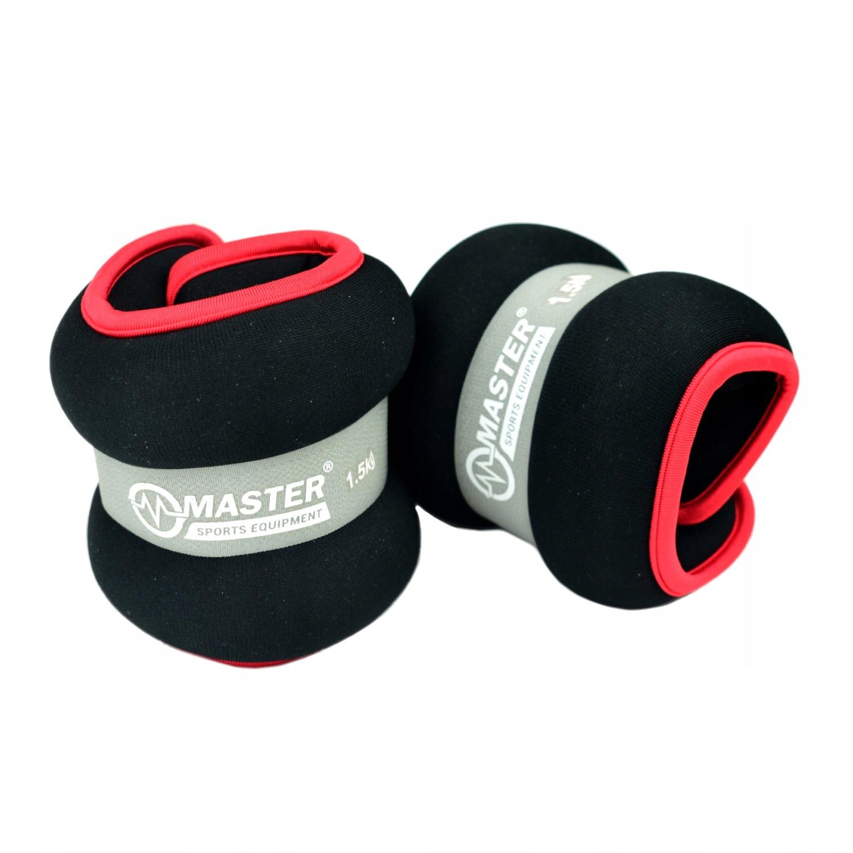 Hmotnosť váhy na zápästie kocky 0,5 kg x2
