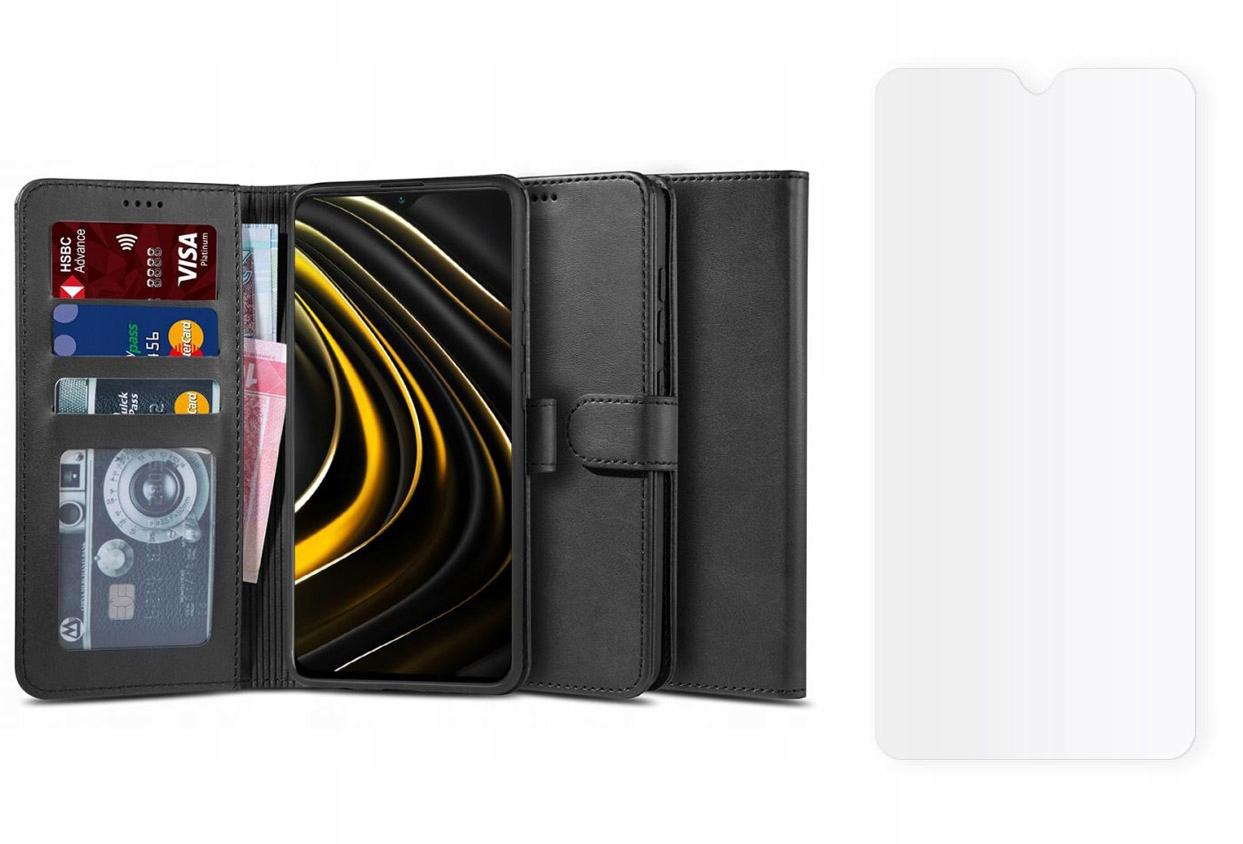 Etui Wallet 2 + szkło hybrydowe do Xiaomi Poco M3