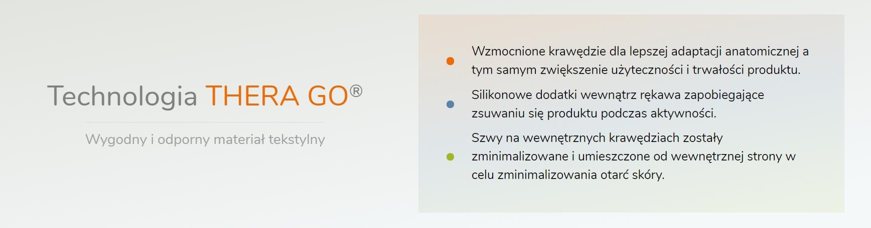 FUNKCJONALNY STABILIZATOR ŁOKCIA Z TAŚMĄ TGO340 Długość ortezy 21 cm