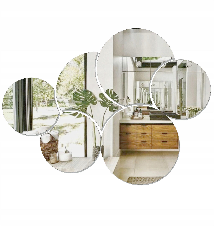 Круги Декоративное акриловое зеркало