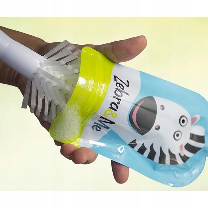 Saszetki tubki wielorazowe na pokarm Zebra&Me EAN 8588006129250