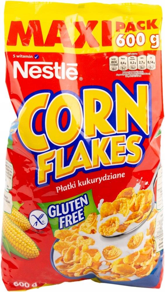 Купить Płatki kukurydziane Nestle Corn Flakes folia 600g на Otpravka - цены и фото - доставка из Польши и стран Европы в Украину.