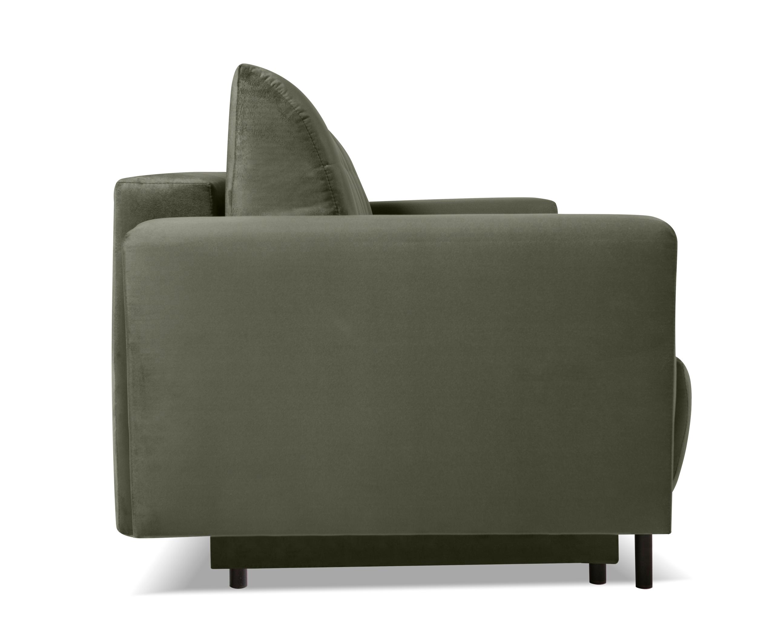 Großes Sofa SARA ausklappbares Schlafsofa - Farben Schlafbereich - Breite (cm) 131-140 cm