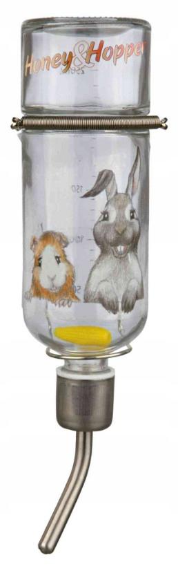 Trixie poidełko szklane królik świnka morska 500ml