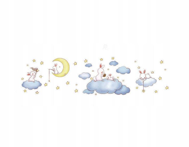 Настенная наклейка детская NIGHT SKY 200х52 см