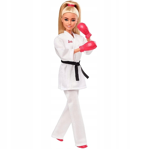Barbie Karate Doll Tokyo 2020 Olympian GJL74 Brand Barbie