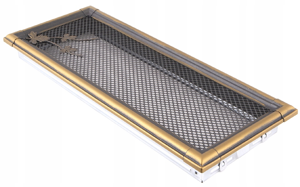 Ventilačné mriežky RETRO 16x45cm zlato patina