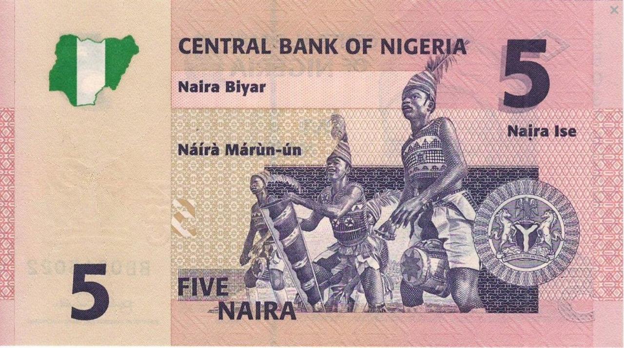 Nigeria 5 naira Kobiety 2006 P-33a