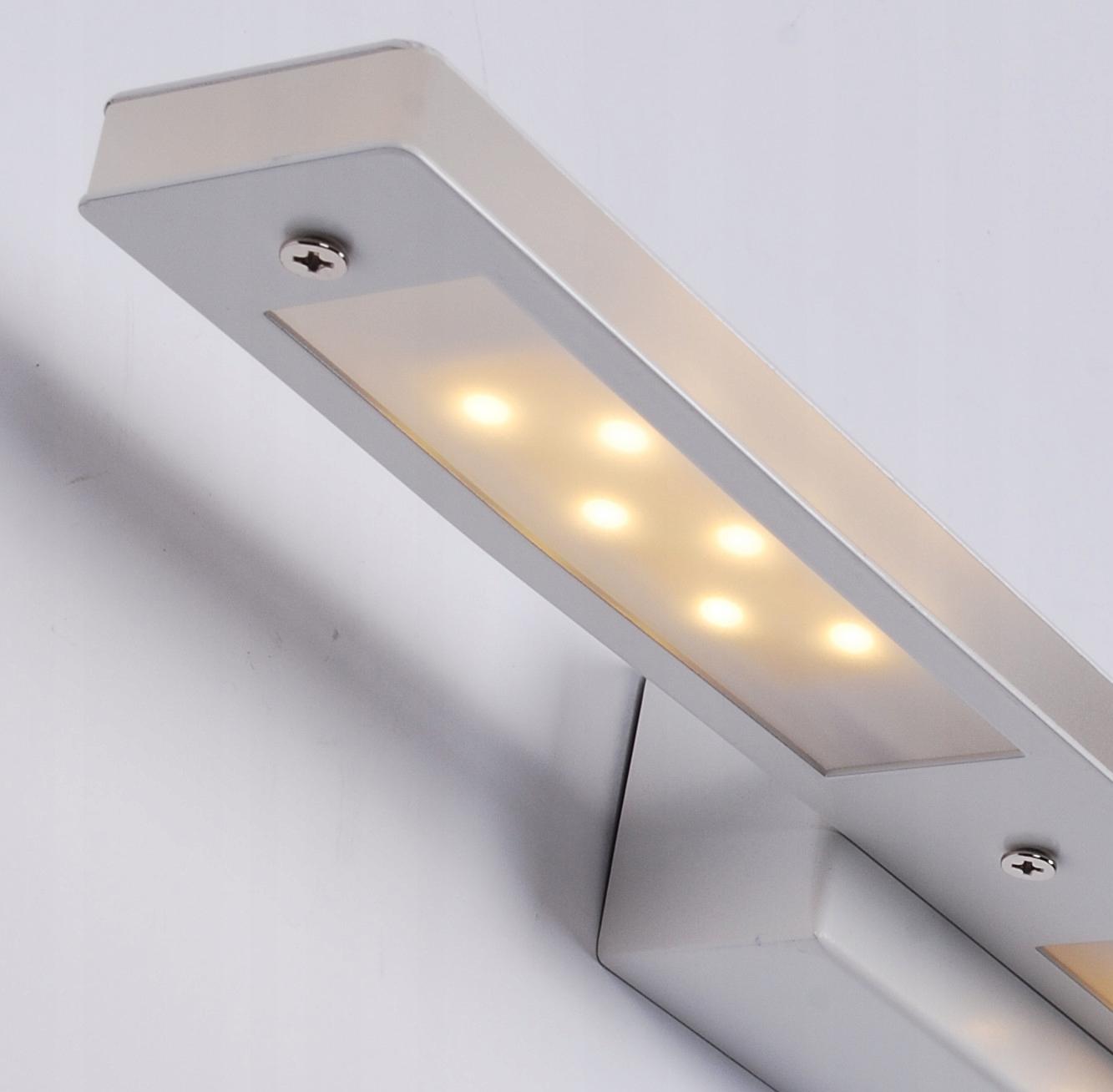 Kinkiet LED nad lustro lampa łazienka 43cm Biała