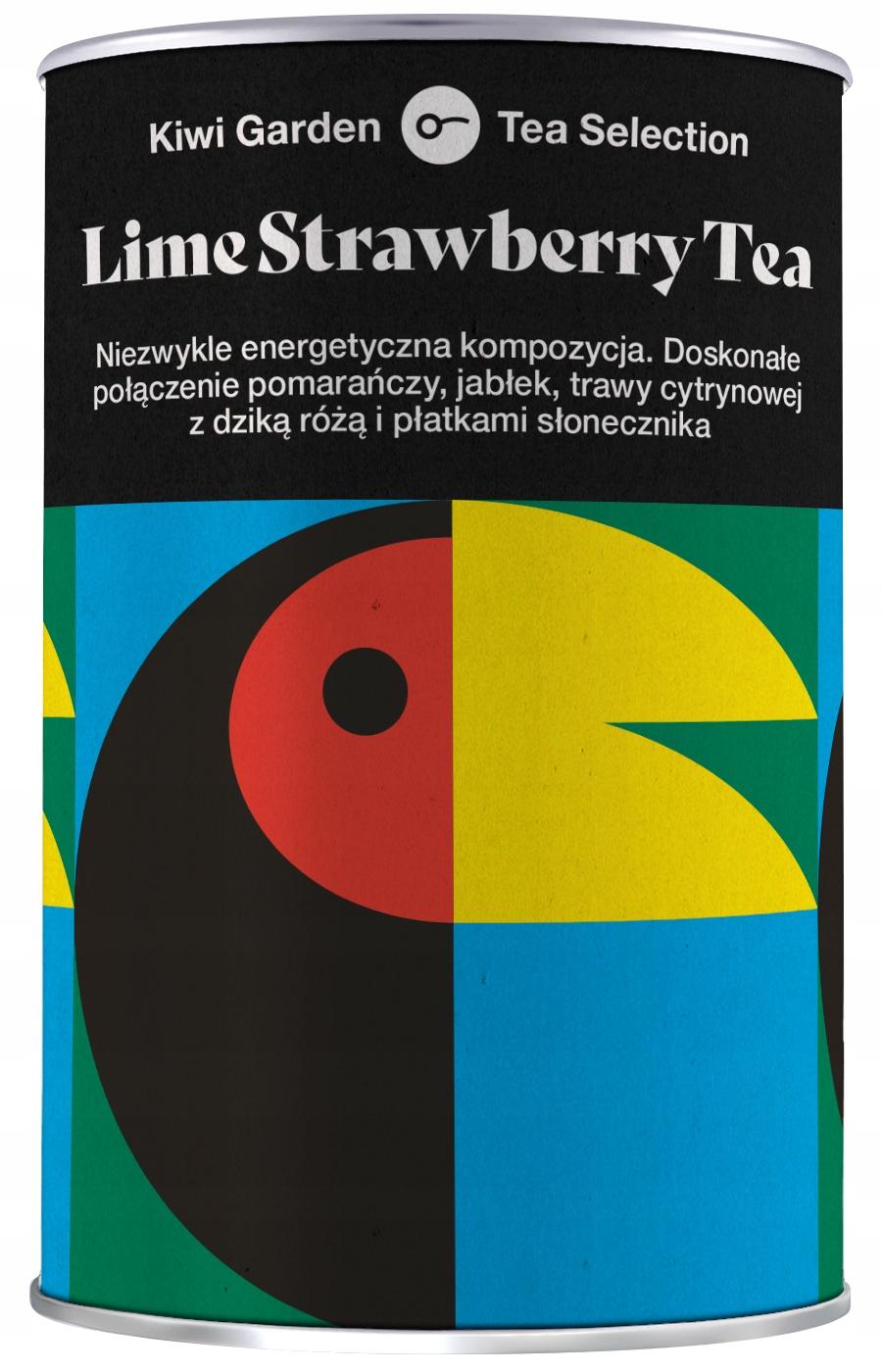 Фруктовый чай KIWI Lime Strawberry 100гр