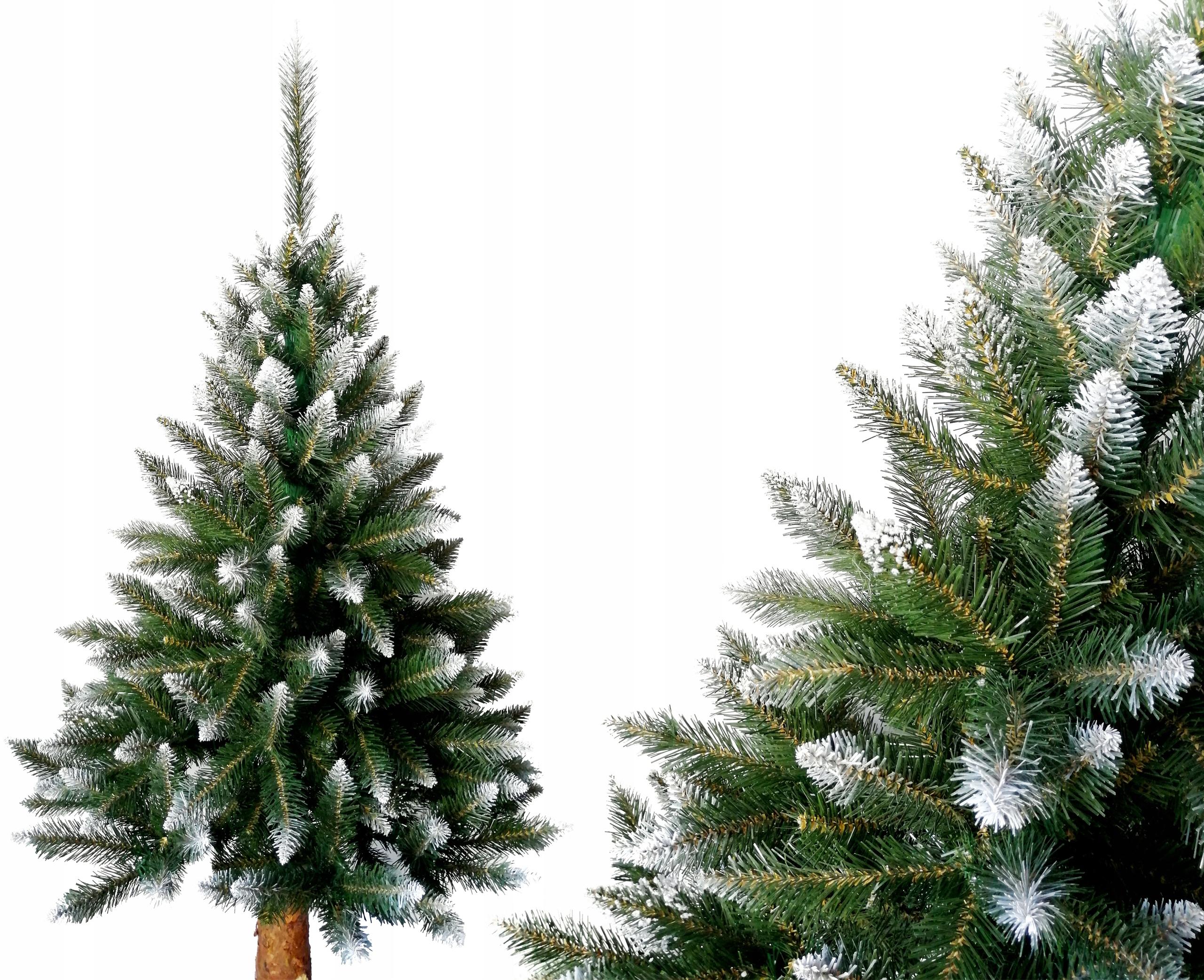 160 cm vianočný stromček LUX DIAMOND SMRK na kufri