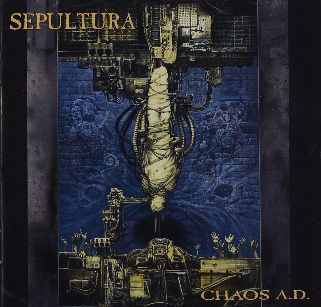 SEPULTURA CHAOS A D  CD