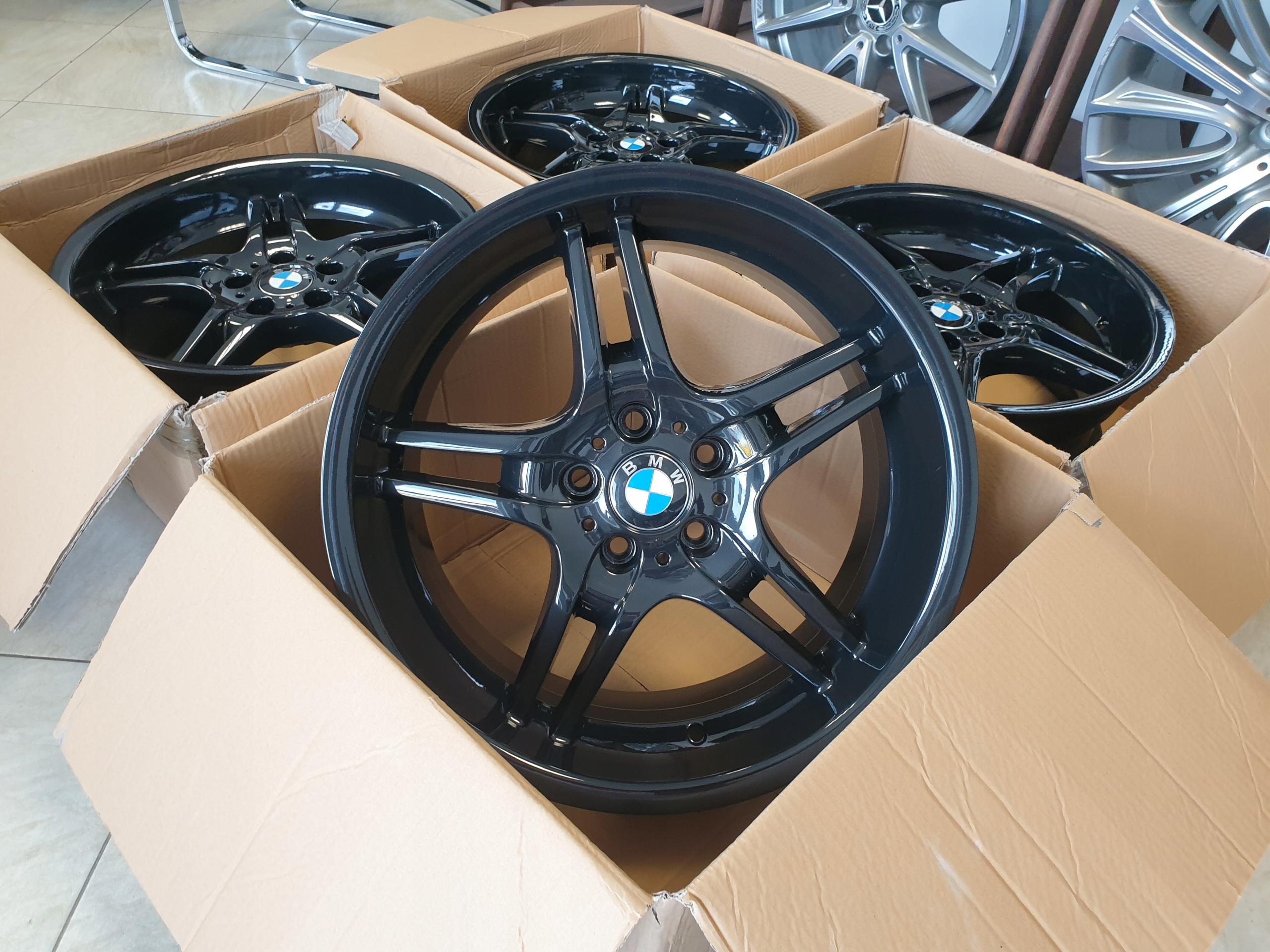 CZARNE Alufelgi felgi BMW Serii 5 E60 E61 19 CALI