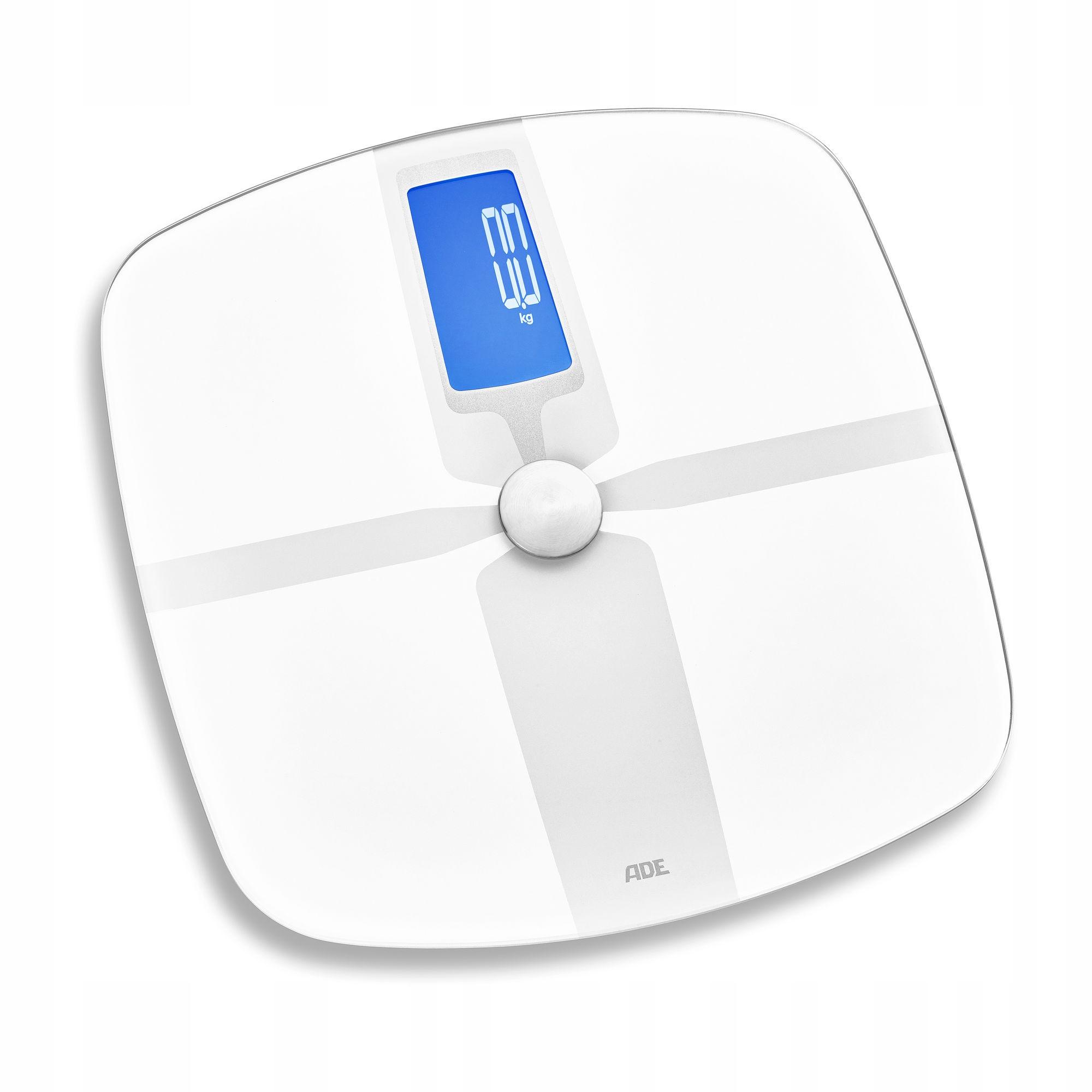 Hmotnosť s analýzou telesnej hmotnosti a Bluetooth 32x33cm ADE