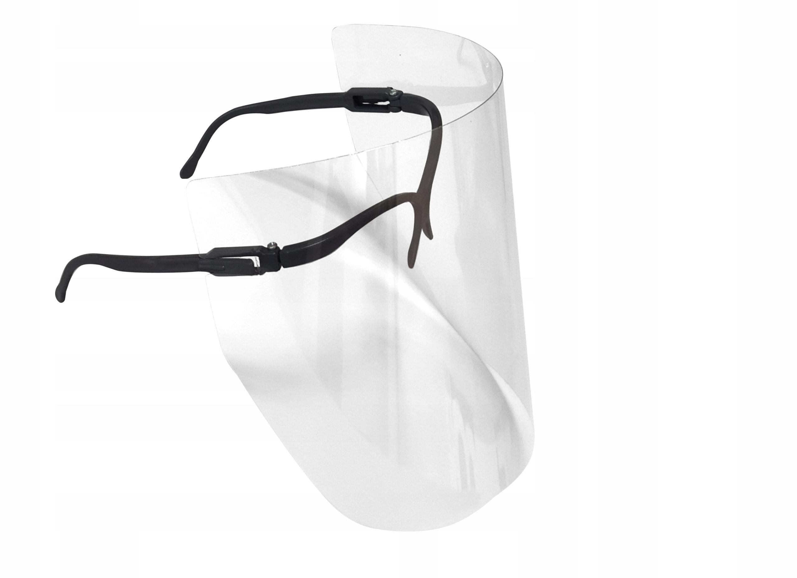 Przyłbica ochronna na twarz, okulary, ochrona