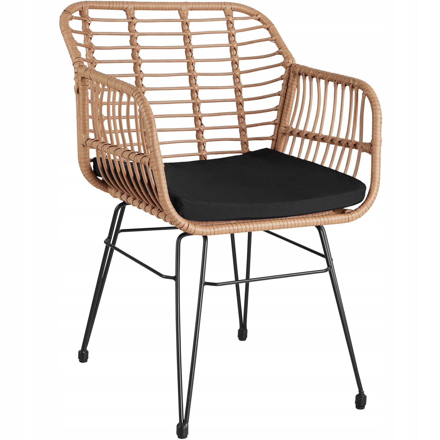 Balkónový záhradný nábytok Molfetta prírodný 403558 Výrobca tectake