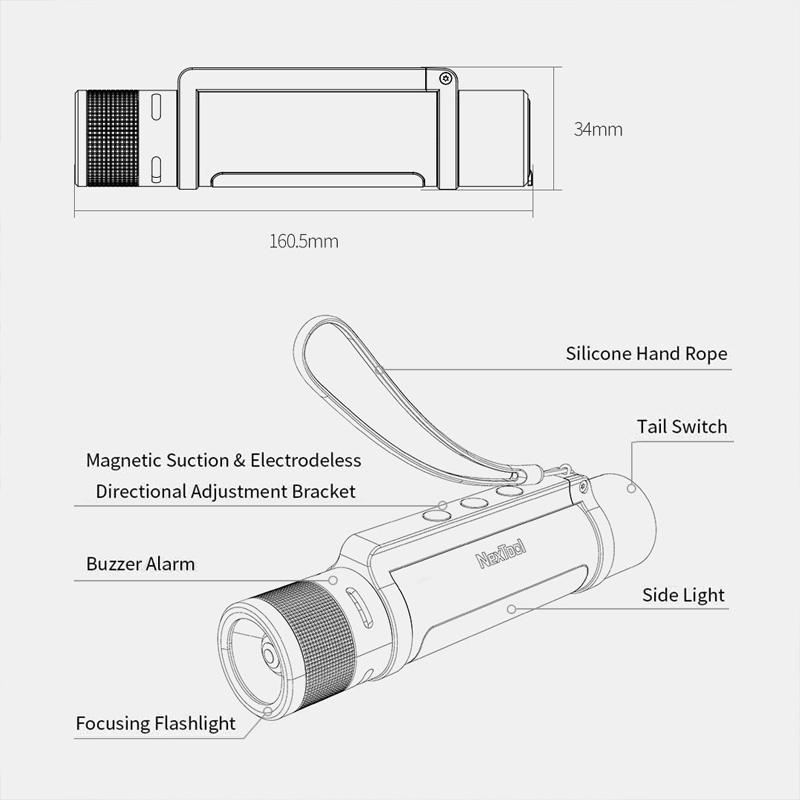 Купить XIAOMI MI LED 6 В 1 ZOOM USB ТАКТИЧЕСКИЙ ФОНАРЬ на Otpravka - цены и фото - доставка из Польши и стран Европы в Украину.