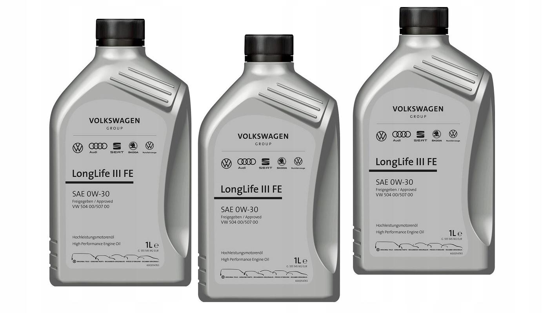 Oryginalny Olej Vw Longlife 0W30 504.00/507.00 1L 4