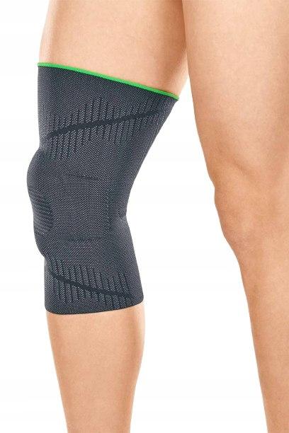 Elastyczna orteza kolana z pierścieniem na rzepkę Strona uniwersalne