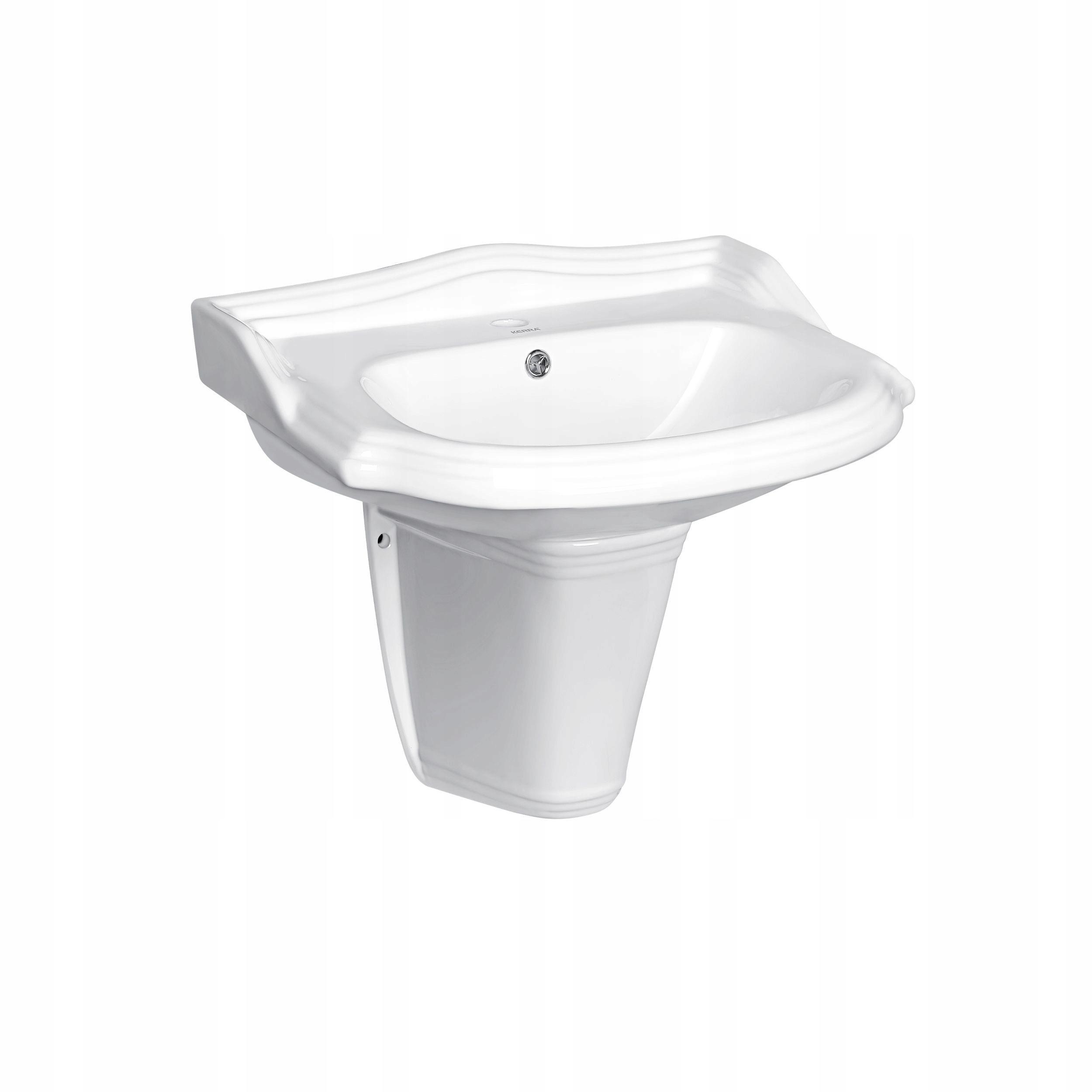Umývadlo keramické prívesok półpostument Retro-KR1