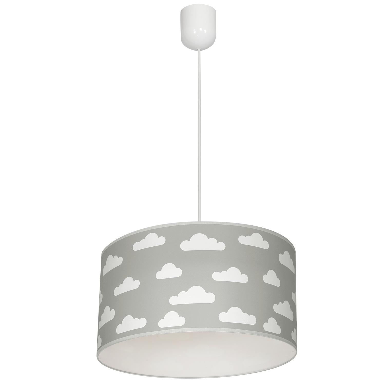 Lampa wisząca sufitowa żyrandol abażur Chmury