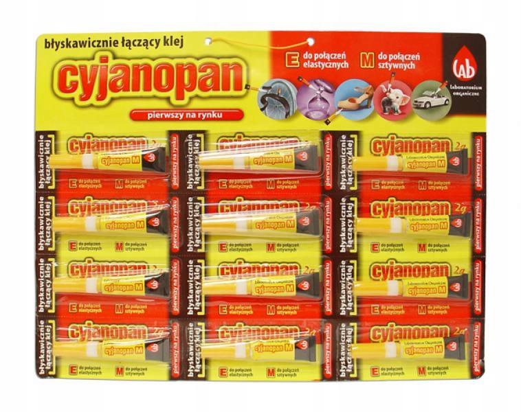 Cyjanopan m 2g клей жесткий