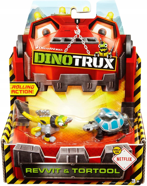 Mattel Dinotrux 2-balenie Revvit a Tortool CJW93
