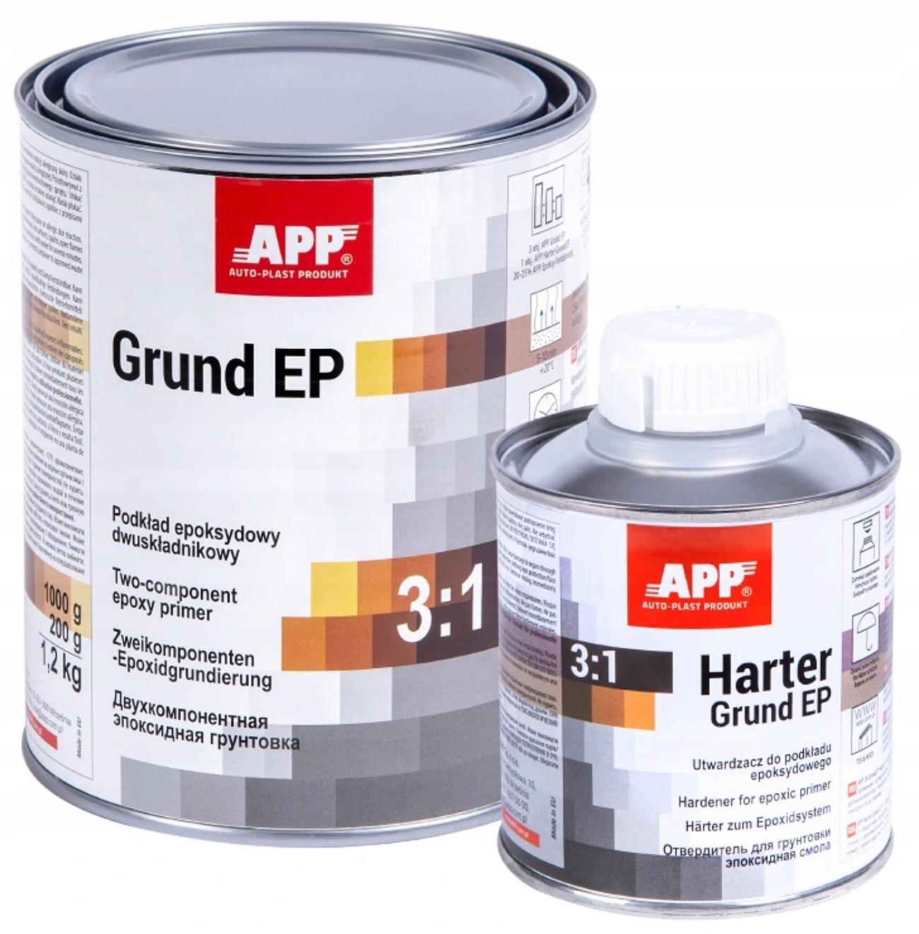 APP 2K GRUND EP грунтовка антикоррозионная эпоксидная
