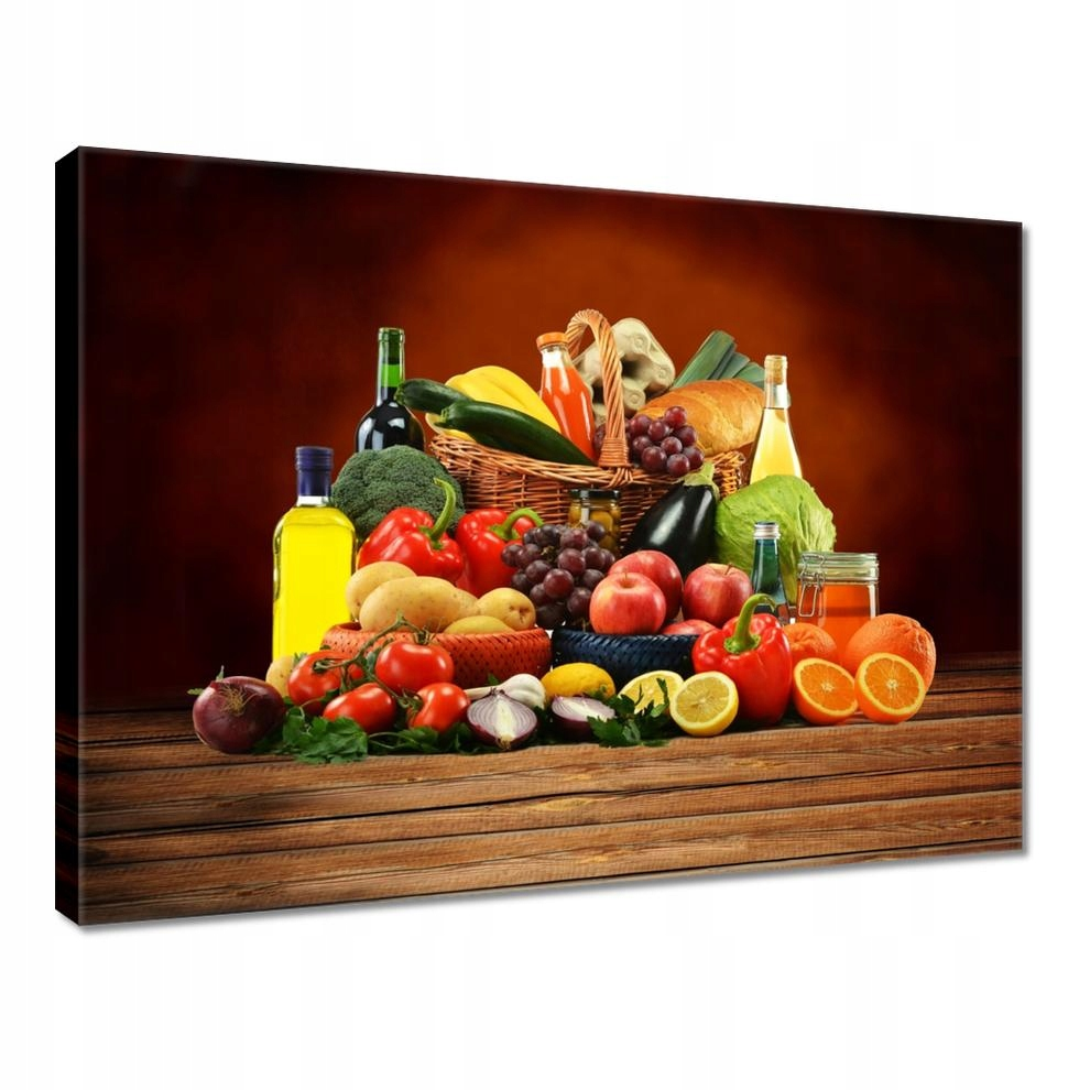 Obrazy 40x30 Owoce Warzywa do kuchni
