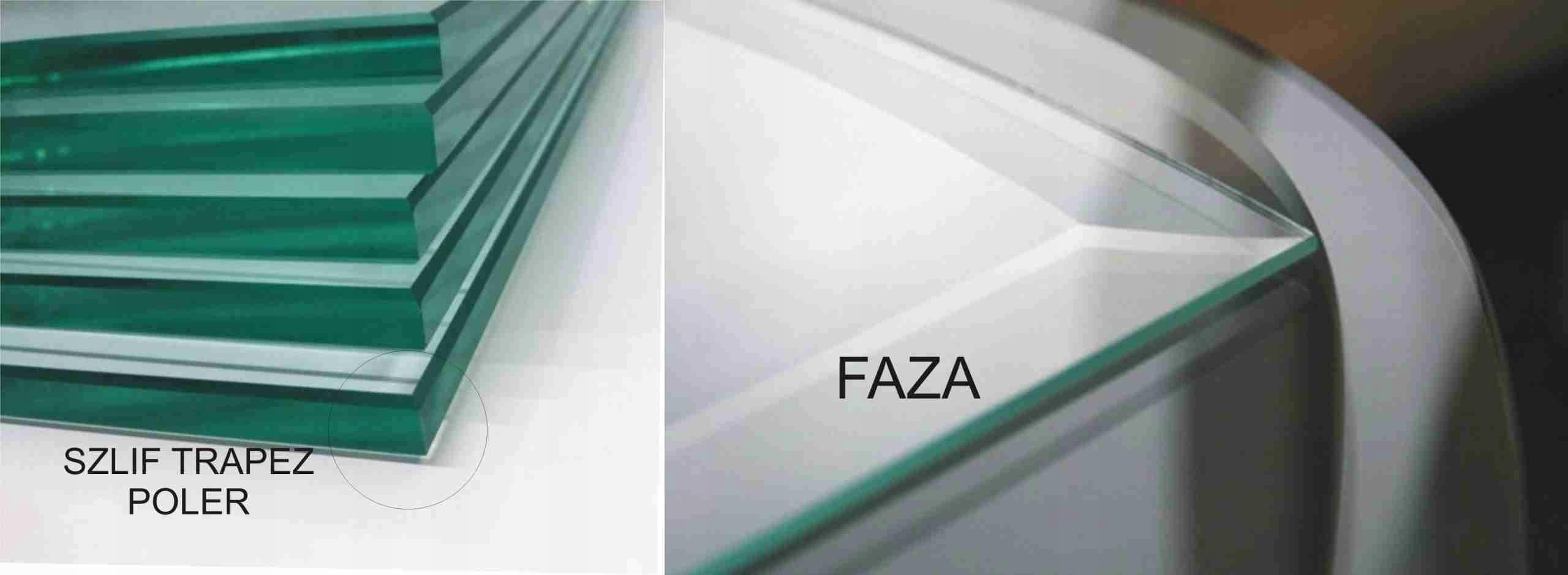 Płytki Kafelki Lustrzane 8X20 Faza Srebrny Wykończenie powierzchni Błyszczące
