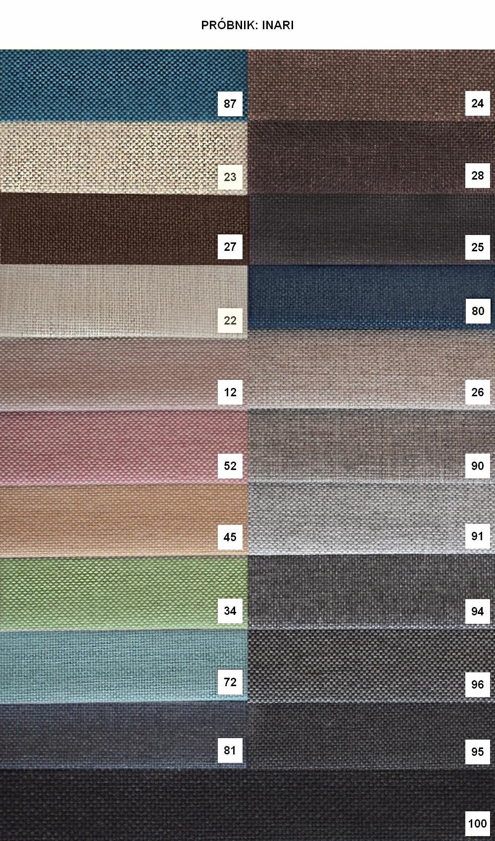 KOMFORTABLE BLANCO U ECKE - FARBEN Körperfarbe in verschiedenen Farben