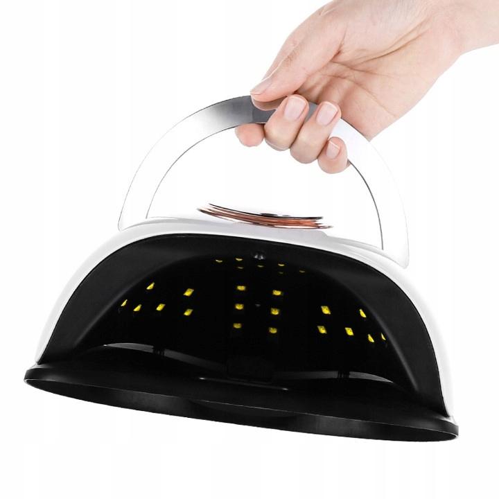 LUMI UV LED 168W lampa na nehty hybridní gely Výška 11 cm