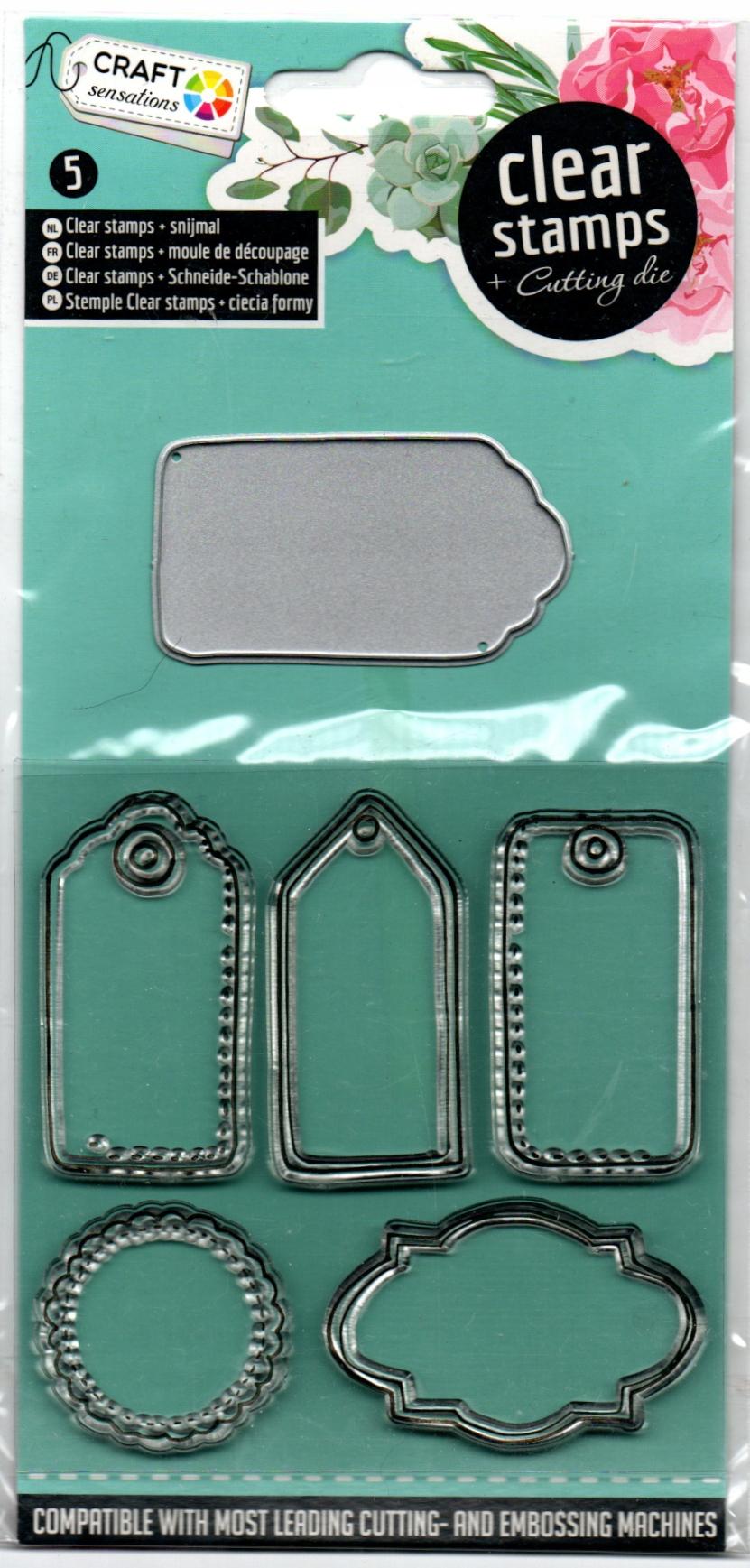 Stemple silikonowe, wykrojnik zestaw