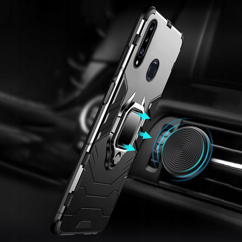 Etui do Samsung Galaxy A20S Pancerne Armor + Szkło Przeznaczenie Samsung
