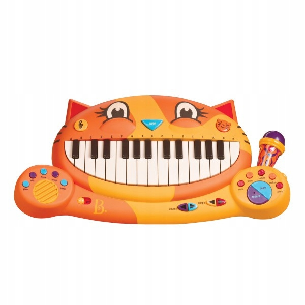 Klávesnica B.Toys Meowsic Piano Kot s mikrofónom