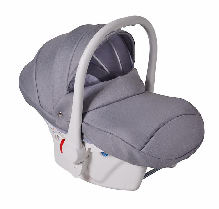 Fotelik samochodowy Neo 0-13 kg dla dzieci (biały) Kod producenta L-01 (biały)