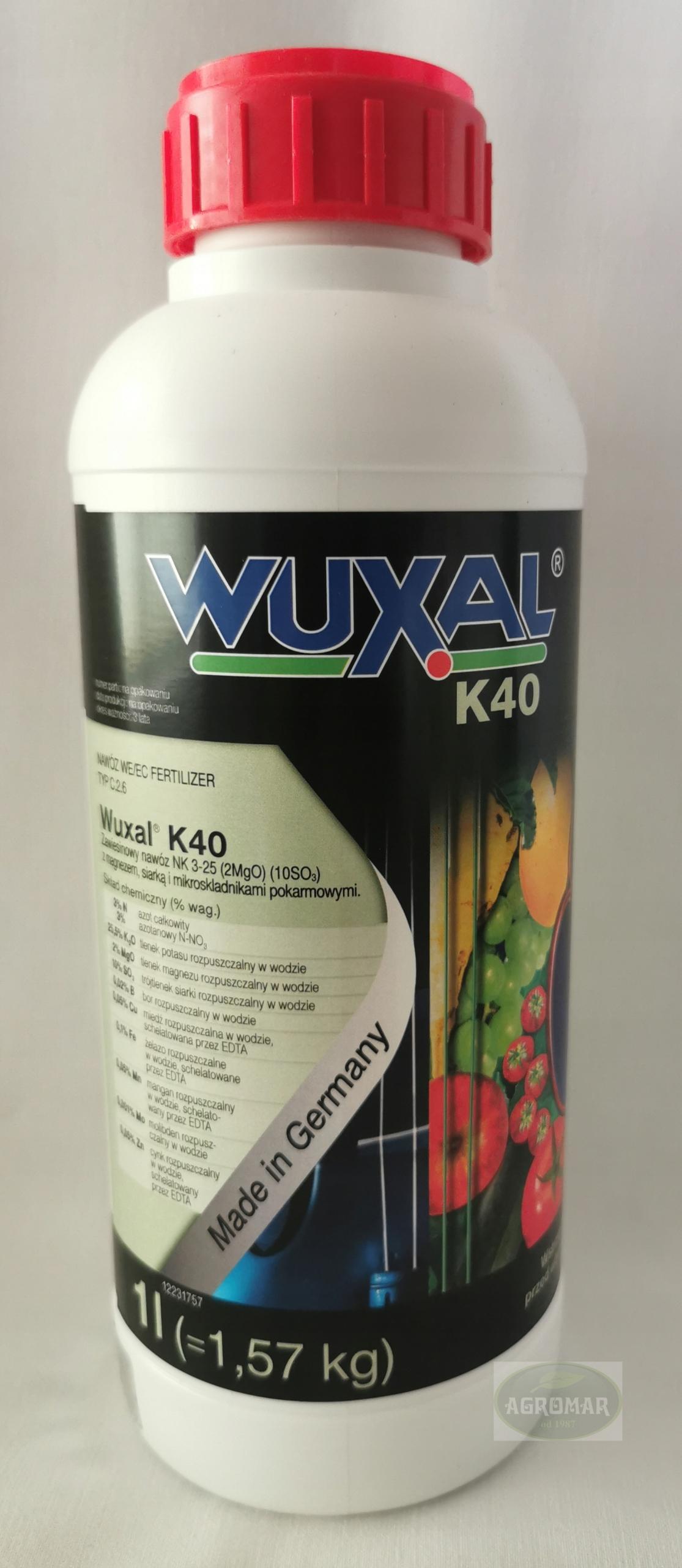 Улучшение качества сельскохозяйственных культур - Wuxal K40 1l
