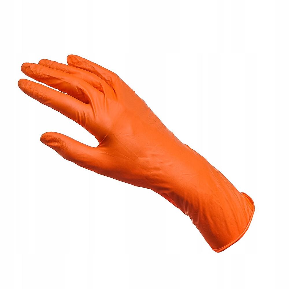 Rękawice gospodarcze robocze gumowe L ochronne