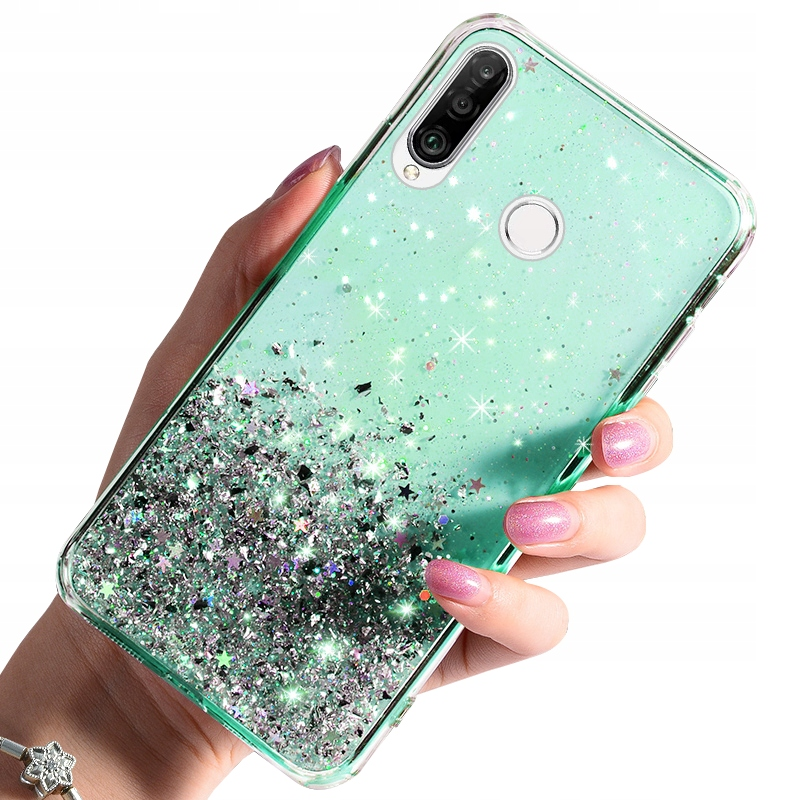 Etui do Huawei P30 Lite CASE BROKAT + SZKŁO 9H