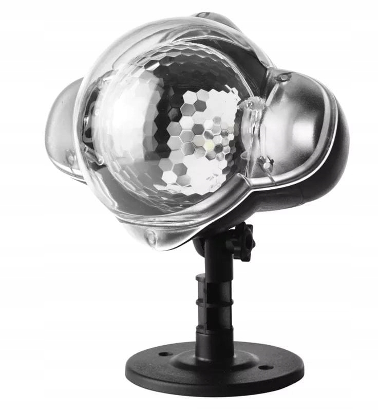 Laserový projektor s bielym bodom IP44