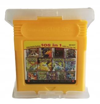 CARDRIDŻ 108 v 1 POKEMON GAME BOY POCKET GAME MC007