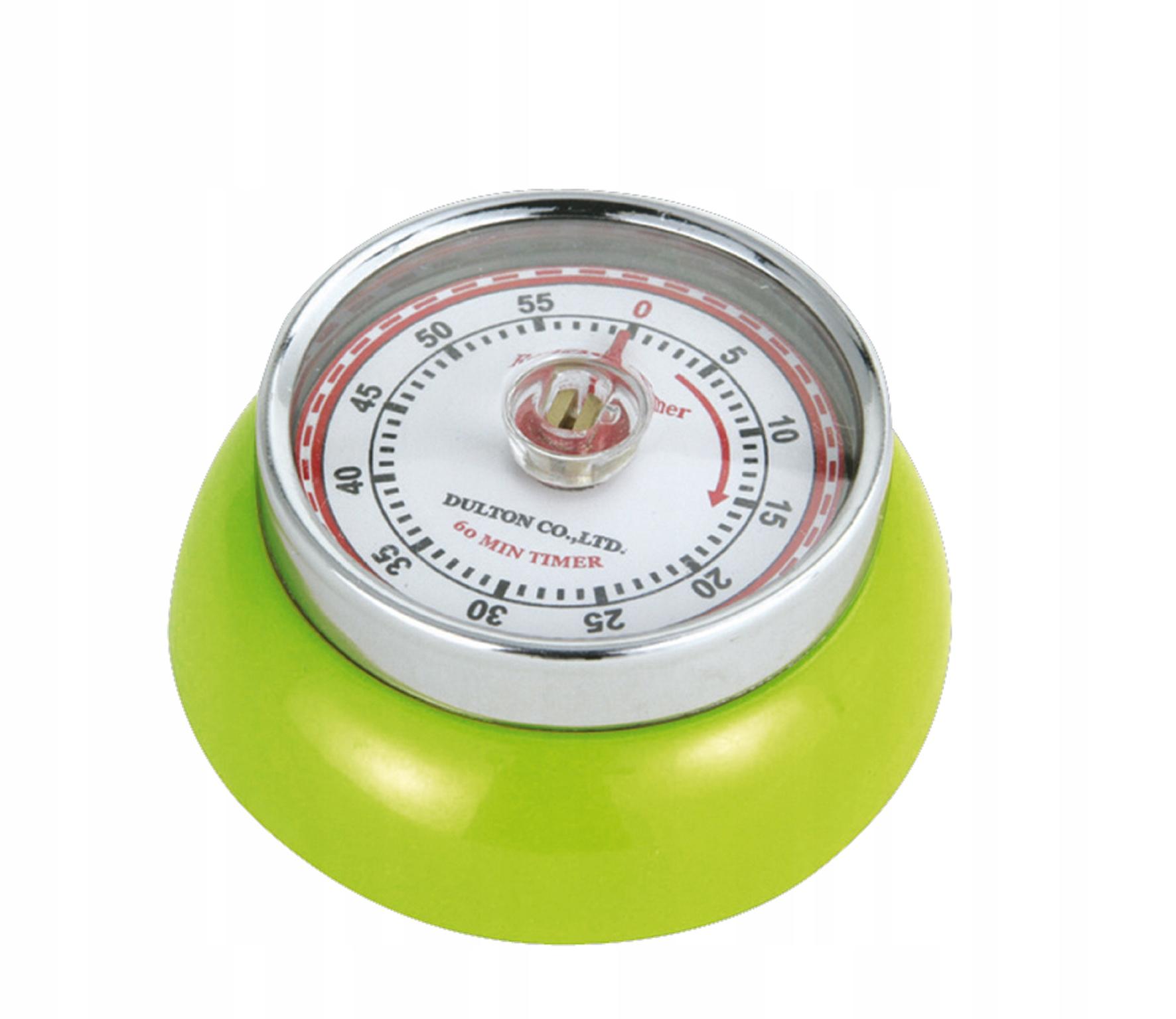 Kuchynský časovač Zassenhaus retro zelený 60min