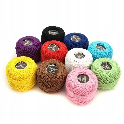 Kordonek - zestaw 10 kolorów