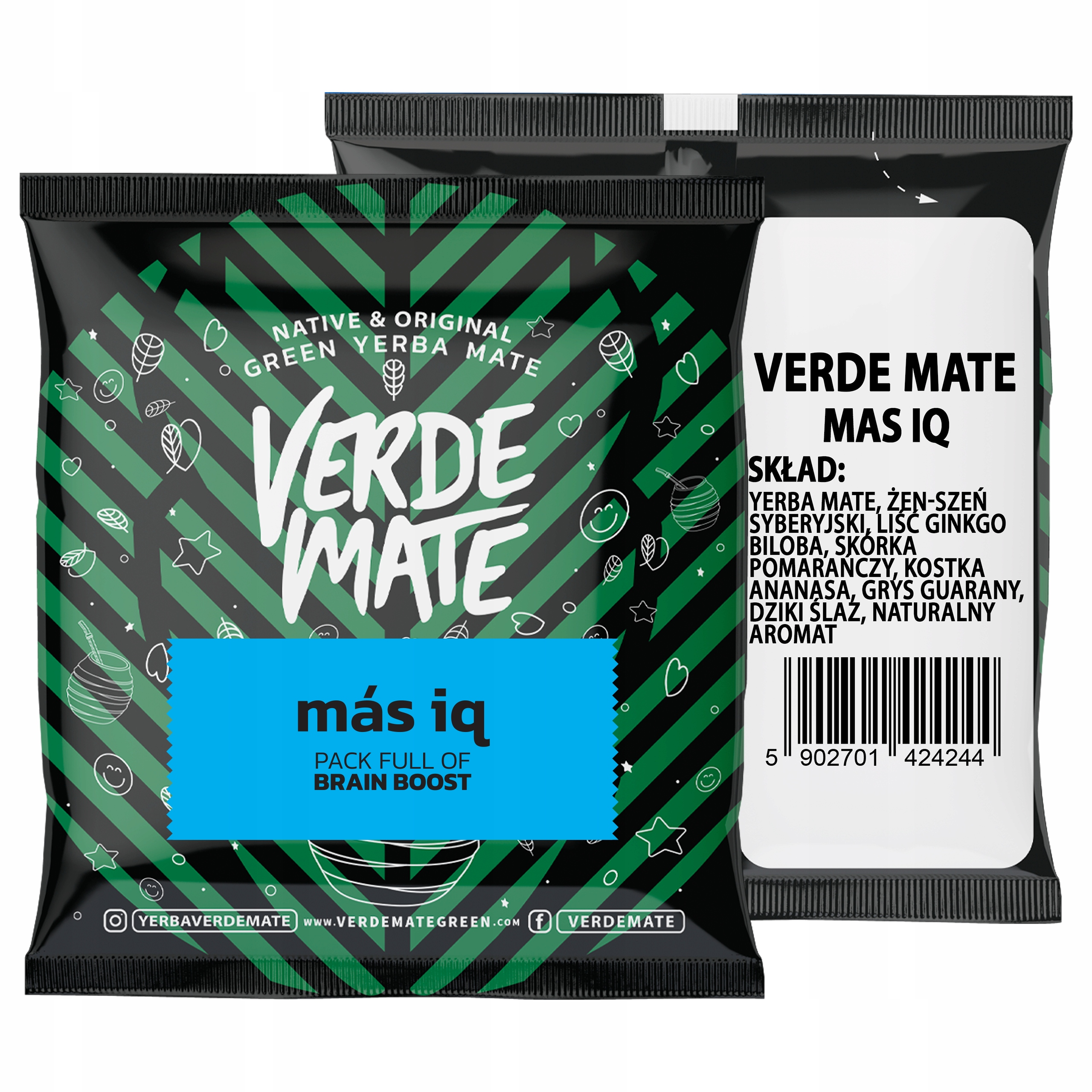 Yerba Verde Mate Green Mas IQ 50g próbka